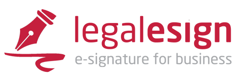 Logo for Legalesign E-signature Software